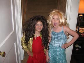 Gabriella and Sharpay